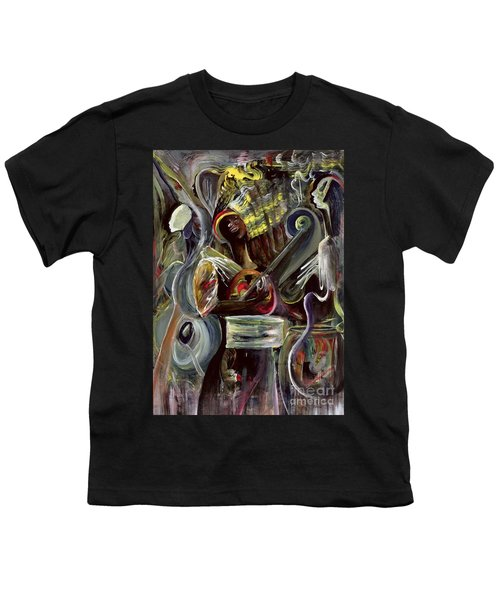 Pearl Jam Youth T-Shirt by Ikahl Beckford