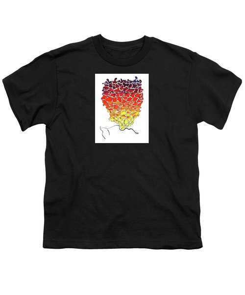 Pele Dreams Youth T-Shirt by Diane Thornton