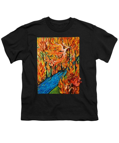 Phoenix Forest Fire Youth T-Shirt