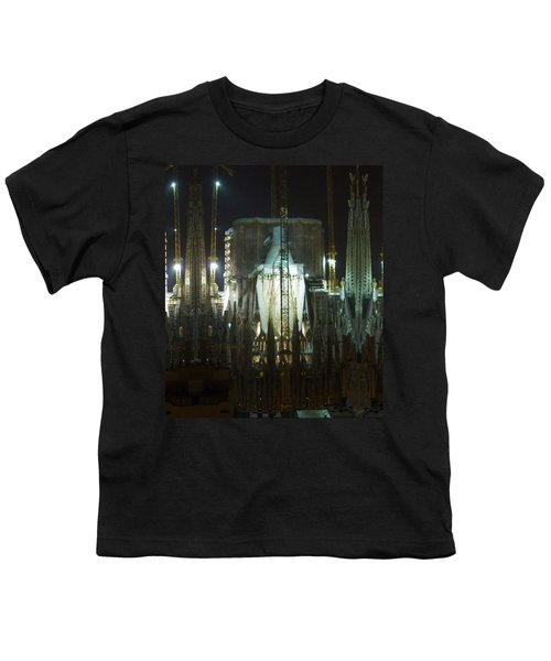 Photography Lights N Shades Sagrada Temple Download For Personal Commercial Projects Bulk Printing Youth T-Shirt