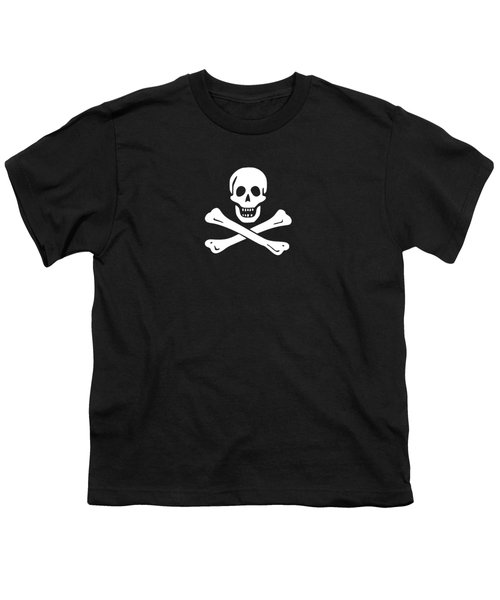 Pirate Flag Tee Youth T-Shirt