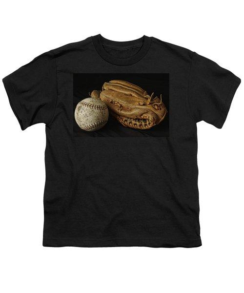 Play Ball Youth T-Shirt by Richard Rizzo
