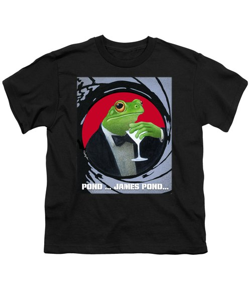 Pond...james Pond... Youth T-Shirt