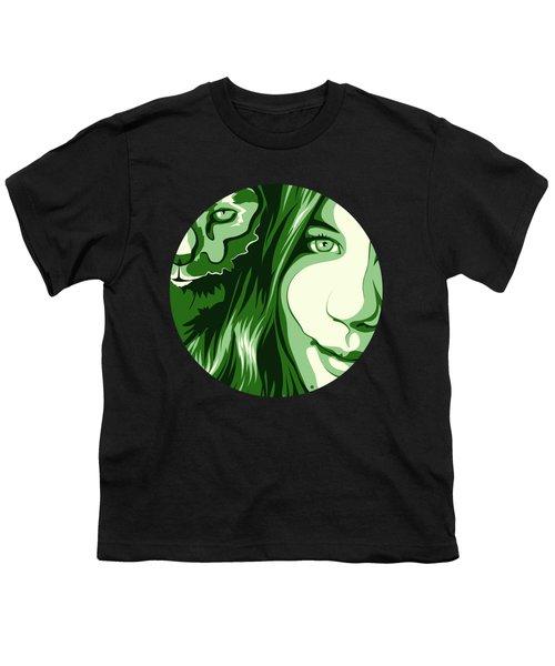 Portrait Youth T-Shirt by Carolina Matthes