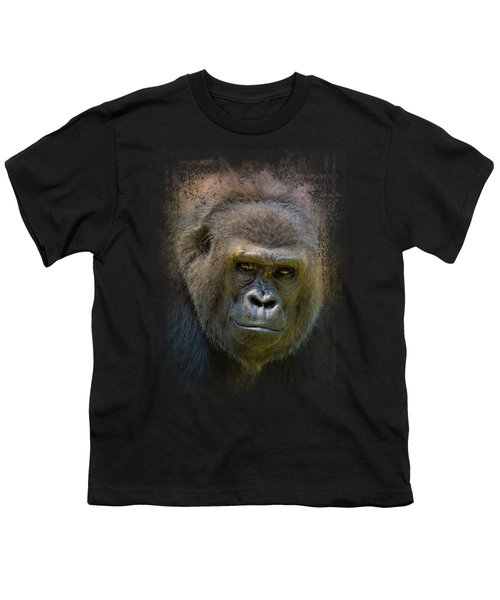 Portrait Of A Gorilla Youth T-Shirt