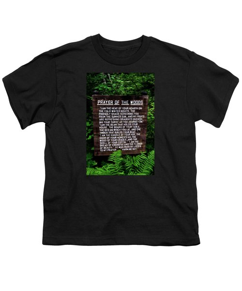 Prayer Of The Woods Youth T-Shirt