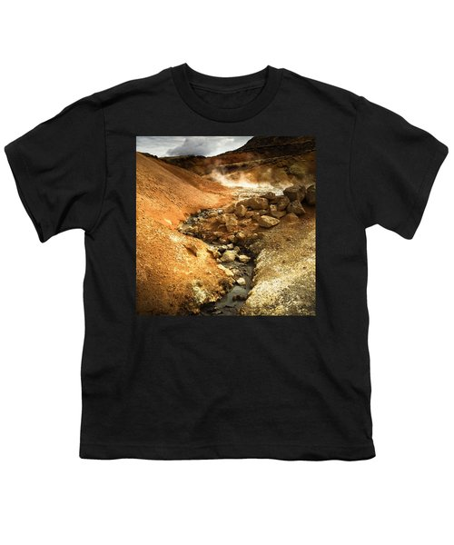 Pure Iceland - Geothermal Area Krysuvik Youth T-Shirt