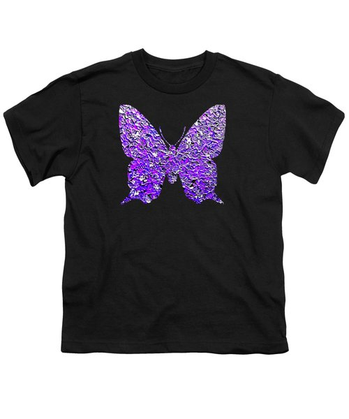 Purple Butterfly  Youth T-Shirt