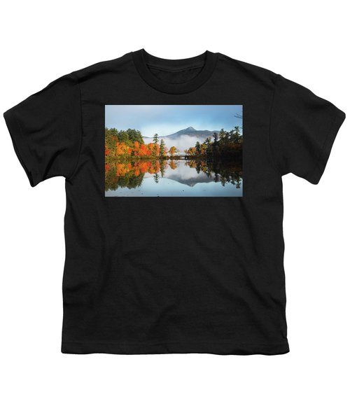 Mount Chocorua Fall Reflection Youth T-Shirt