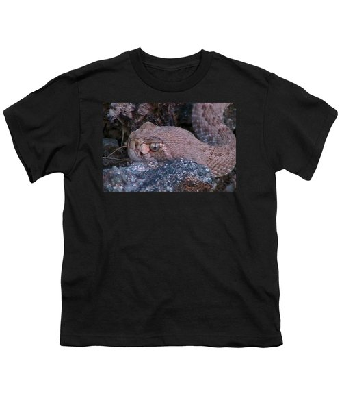 Rattlesnake Portrait Youth T-Shirt