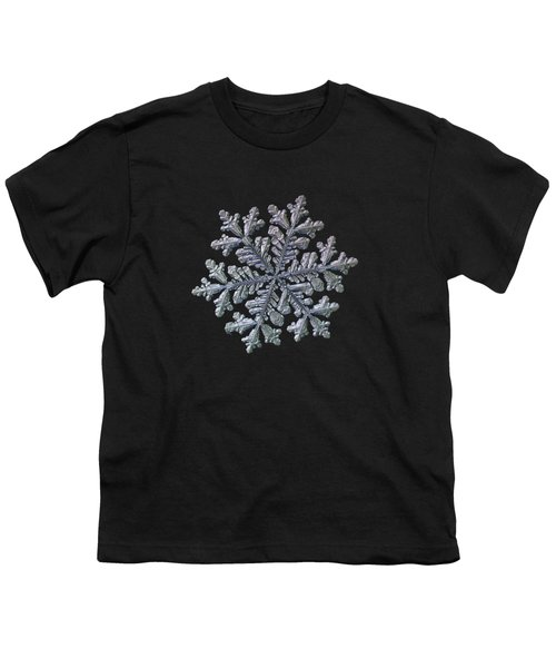 Real Snowflake - Hyperion Black Youth T-Shirt