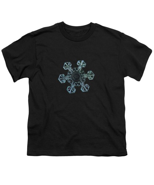 Real Snowflake - Ice Crown New Youth T-Shirt