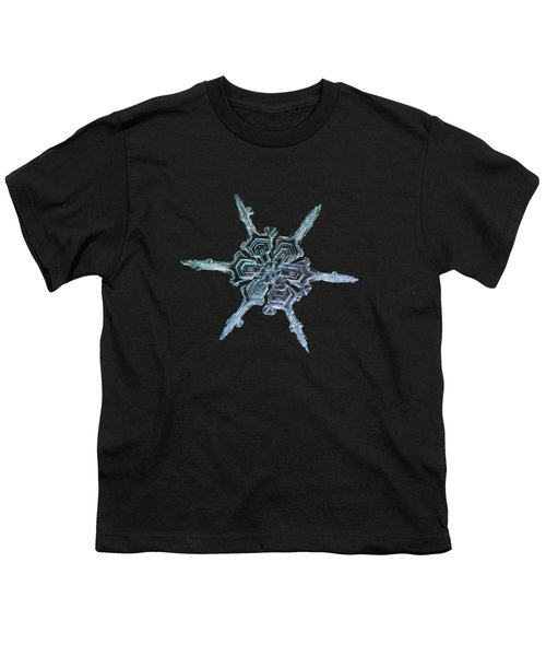 Real Snowflake Photo - The Shard Youth T-Shirt