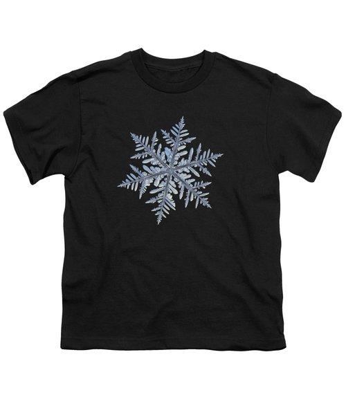 Real Snowflake - Silverware Black Youth T-Shirt