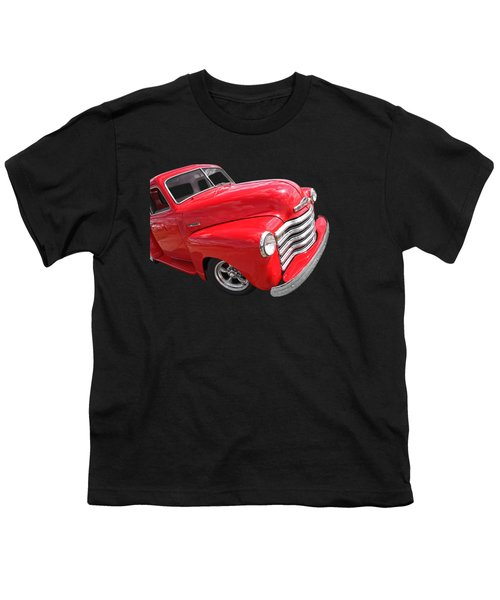 Red Chevy Pickup Youth T-Shirt