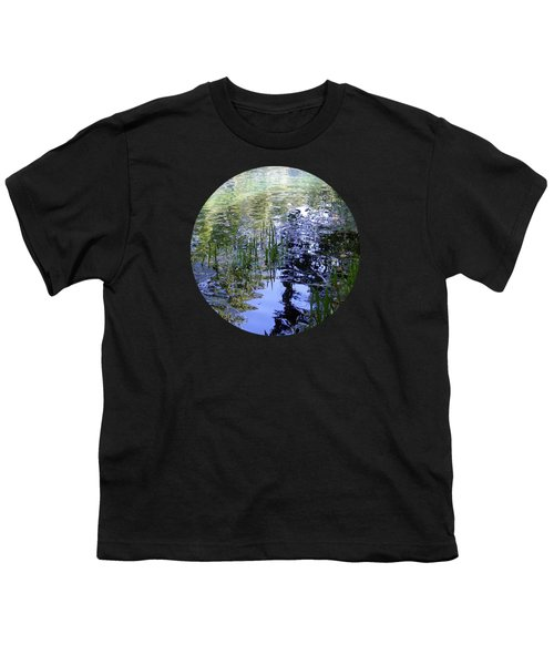 Reflections  Youth T-Shirt by Mary Wolf