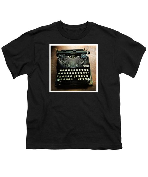 Remington Portable Old Used Typewriter Youth T-Shirt