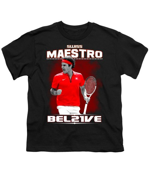 Roger Federer Maestro Youth T-Shirt