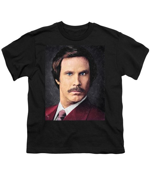 Ron Burgundy Youth T-Shirt