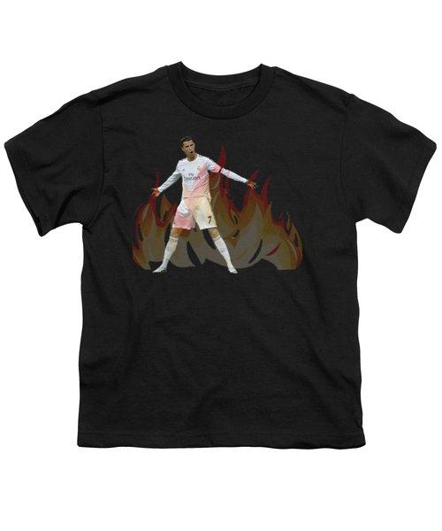 Ronaldo Youth T-Shirt by Vincenzo Basile