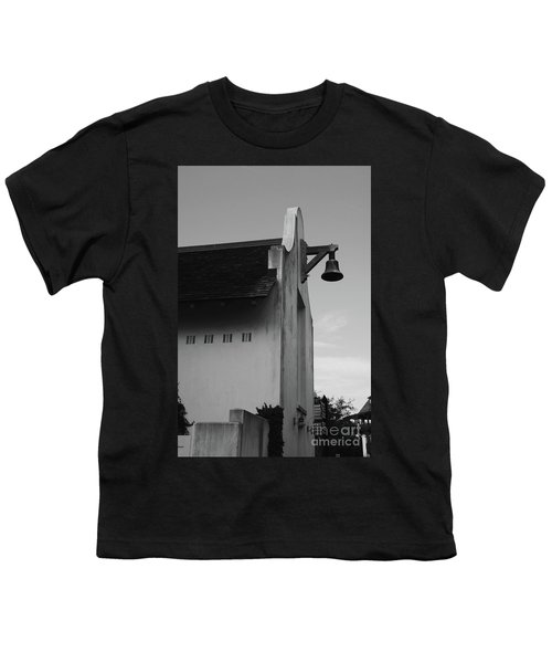 Rosemary Beach Post Office In Black And White Youth T-Shirt