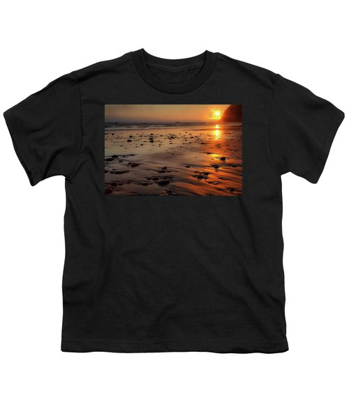 Youth T-Shirt featuring the photograph Ruby Beach Sunset by David Chandler