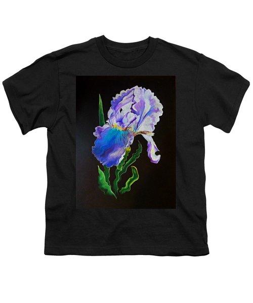 Ruffled Iris Youth T-Shirt