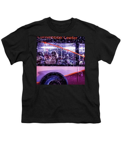 Rush Hour On A Rainy Monday Evening In Youth T-Shirt