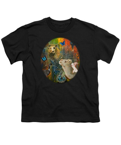 Sacred Journey Youth T-Shirt by Deborha Kerr