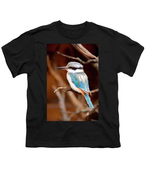 Sacred Kingfisher Youth T-Shirt