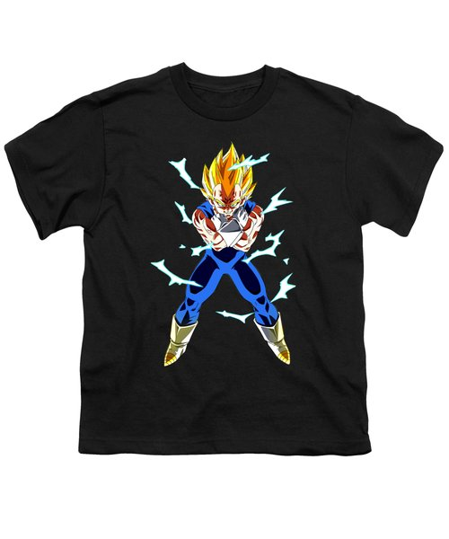 Saiyan Warriors Youth T-Shirt by Opoble Opoble