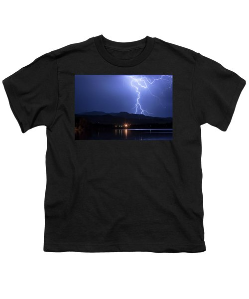 Youth T-Shirt featuring the photograph Scribble In The Night by James BO Insogna