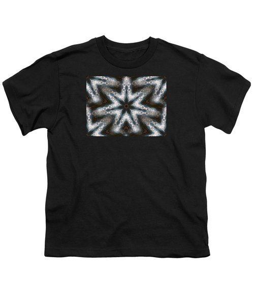 Seamless Mountain Star Youth T-Shirt