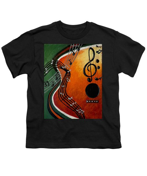 Serenade Youth T-Shirt by Teresa Wing