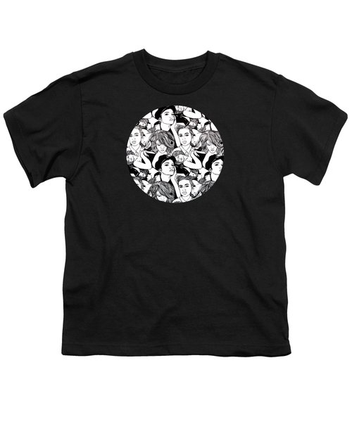 Seven Beauties Youth T-Shirt by Malinda  Prudhomme