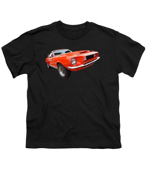 Shelby Gt500kr 1968 Youth T-Shirt by Gill Billington