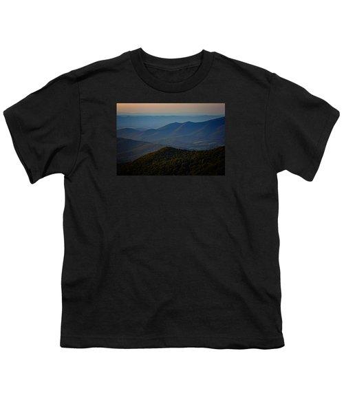 Shenandoah Valley At Sunset Youth T-Shirt