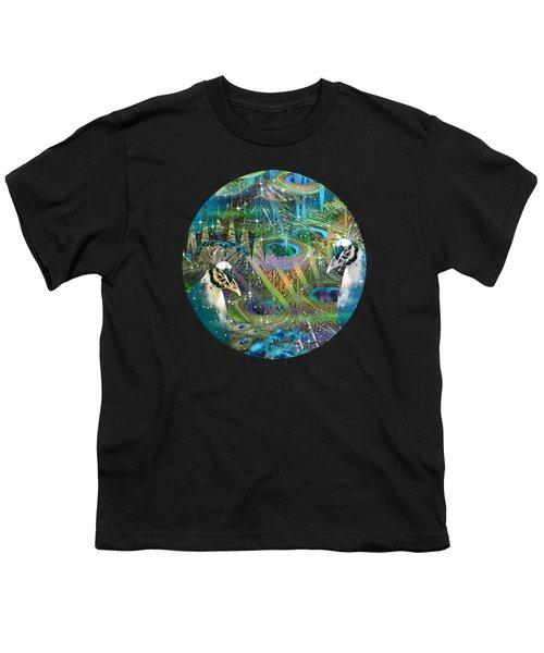 Siblings Youth T-Shirt by Phil Sadler