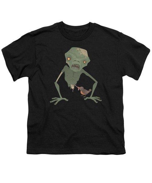 Sickly Zombie Youth T-Shirt by John Schwegel