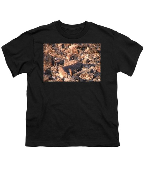 Slithering Away With Tail Held High Youth T-Shirt