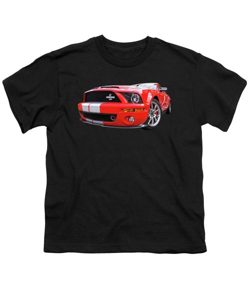 Smokin' Cobra Power - Shelby Kr Youth T-Shirt by Gill Billington