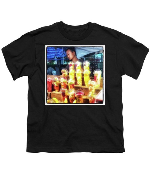 Youth T-Shirt featuring the photograph Smoothie Nirvana. Choose A Cup Of by Mr Photojimsf