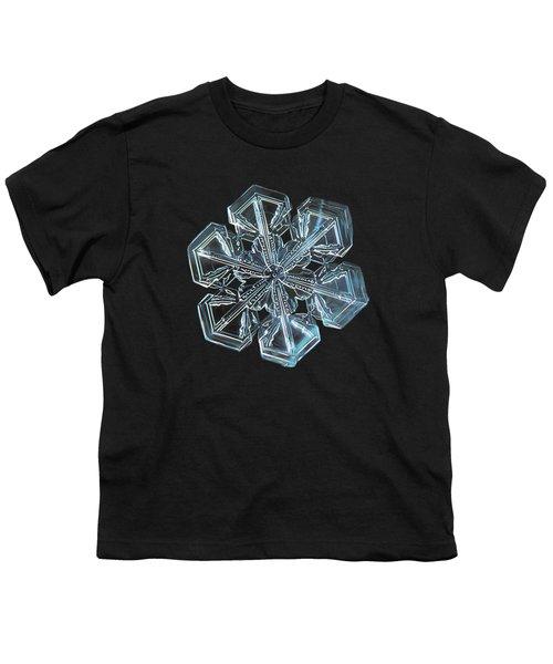 Snowflake Photo - Alcor Youth T-Shirt