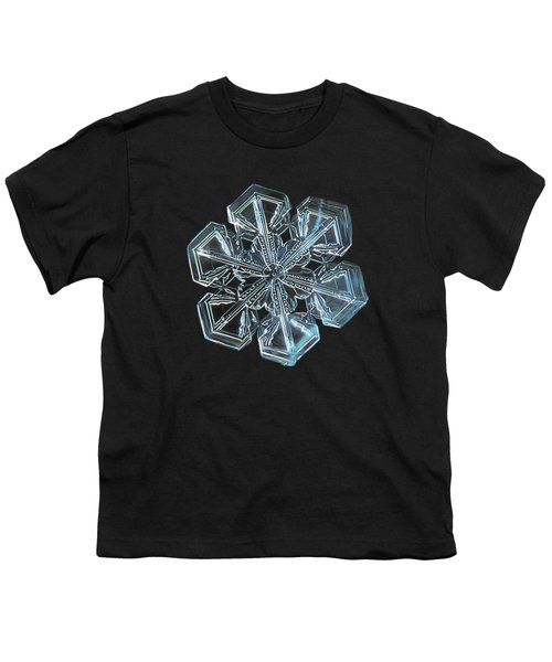 Snowflake Photo - Alcor Youth T-Shirt