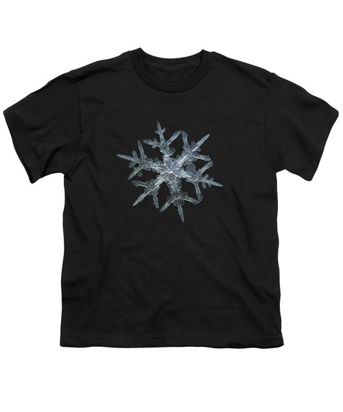Snowflake Photo - Rigel Youth T-Shirt by Alexey Kljatov