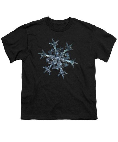 Snowflake Photo - Starlight Youth T-Shirt