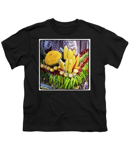 Youth T-Shirt featuring the photograph So, Elephants Eat Red Hot Chile by Mr Photojimsf