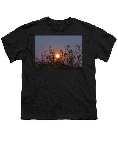 Sonoran Desert Harvest Moon Youth T-Shirt