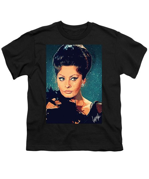 Sophia Loren Youth T-Shirt