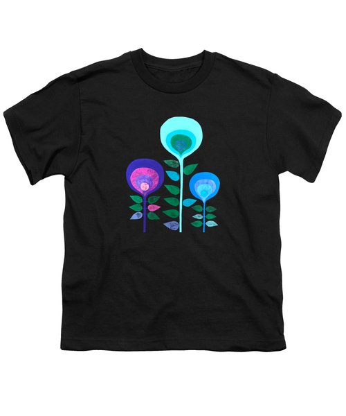Space Flowers Youth T-Shirt
